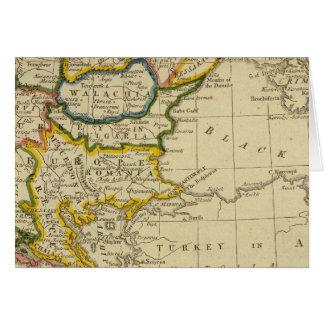 Turkey, Hungary Card