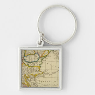 Turkey, Hungary Key Ring