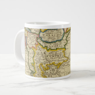 Turkey, Hungary Large Coffee Mug