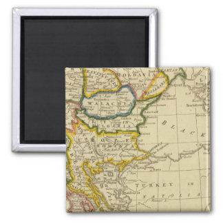 Turkey, Hungary Magnet