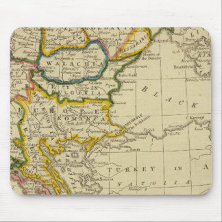 Turkey, Hungary Mouse Mat