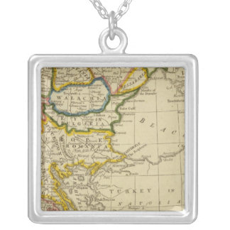 Turkey, Hungary Silver Plated Necklace