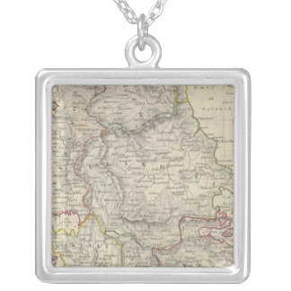 Turkey II Northern Greece Silver Plated Necklace
