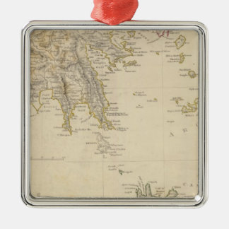 Turkey III Southern Greece and Candia Christmas Ornament
