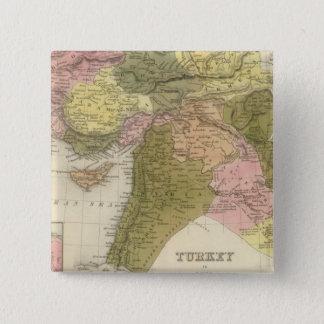 Turkey In Asia 15 Cm Square Badge