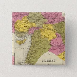 Turkey In Asia 2 15 Cm Square Badge