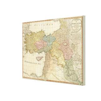 Turkey in Asia 2 Canvas Print