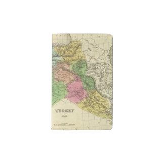 Turkey In Asia 2 Pocket Moleskine Notebook