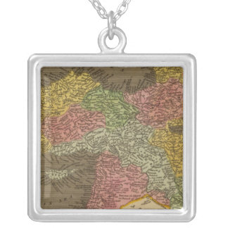 Turkey in Asia 2 Silver Plated Necklace