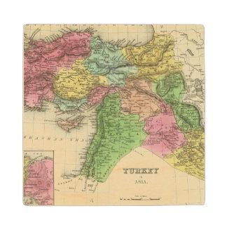 Turkey In Asia 2 Wood Coaster