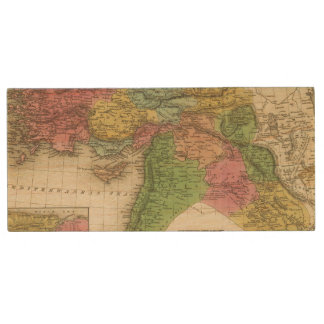 Turkey In Asia 2 Wood USB Flash Drive