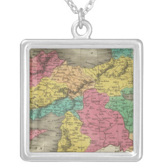 Turkey In Asia 3 Silver Plated Necklace