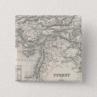 Turkey in Asia 4 15 Cm Square Badge