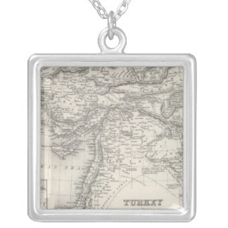 Turkey in Asia 4 Silver Plated Necklace