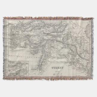 Turkey in Asia 4 Throw Blanket