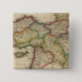 Turkey in Asia 6 15 Cm Square Badge