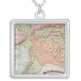 Turkey in Asia 6 Silver Plated Necklace