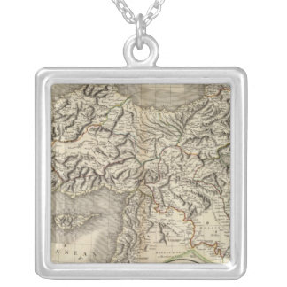 Turkey in Asia 8 Silver Plated Necklace
