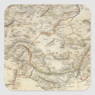 Turkey in Asia Minor Square Sticker