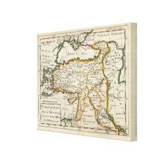 Turkey in Asia or Asia Minor Canvas Print