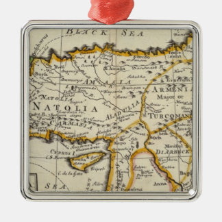 Turkey in Asia or Asia Minor Christmas Ornament