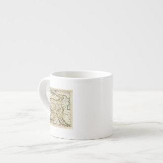 Turkey in Asia or Asia Minor Espresso Mug