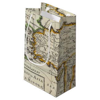 Turkey in Asia or Asia Minor Small Gift Bag