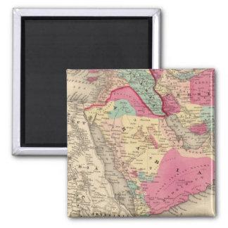 Turkey In Asia Persia Arabiaandc Magnet