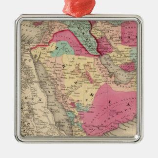 Turkey In Asia Persia Arabiaandc Silver-Colored Square Decoration