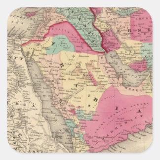 Turkey In Asia Persia Arabiaandc Square Sticker