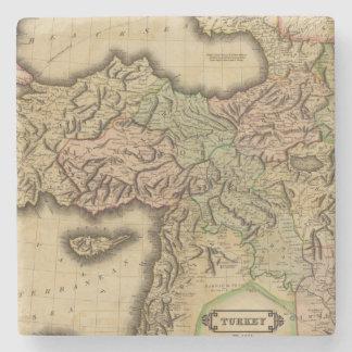 Turkey in Asia Stone Coaster