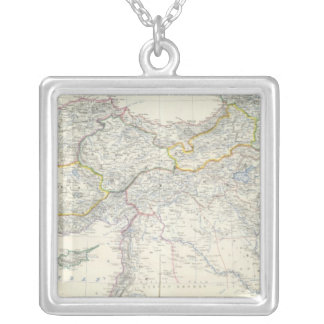 Turkey in Asia, Transcaucasia Silver Plated Necklace