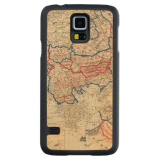 Turkey in Europe 10 Carved Maple Galaxy S5 Case