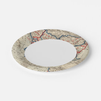 Turkey in Europe 10 Paper Plate