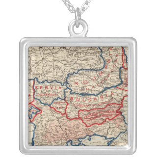 Turkey in Europe 10 Silver Plated Necklace
