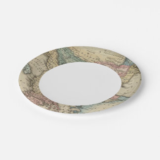 Turkey In Europe 2 7 Inch Paper Plate