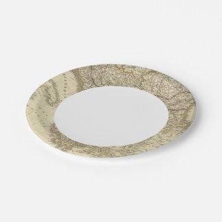 Turkey in Europe 3 Paper Plate