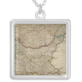 Turkey in Europe 3 Silver Plated Necklace