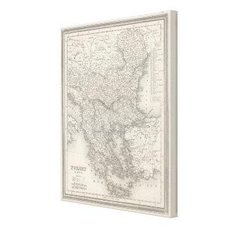 Turkey in Europe 4 Canvas Print