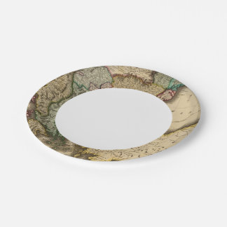 Turkey in Europe 5 7 Inch Paper Plate
