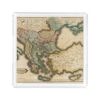 Turkey in Europe 5 Acrylic Tray