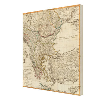 Turkey in Europe 5 Canvas Print