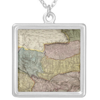 Turkey in Europe 5 Silver Plated Necklace