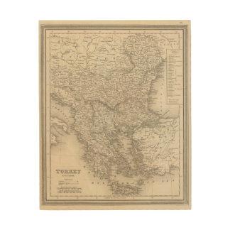 Turkey in Europe 6 Wood Wall Art