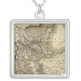 Turkey in Europe 7 Silver Plated Necklace