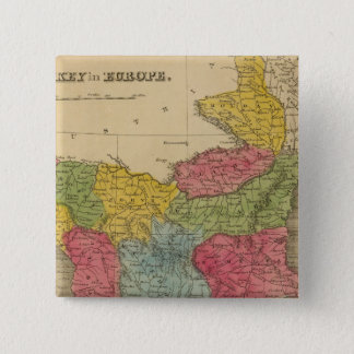 Turkey in Europe 8 15 Cm Square Badge