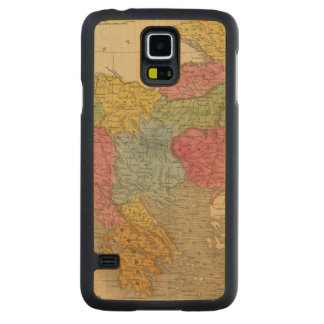 Turkey in Europe 8 Carved Maple Galaxy S5 Case