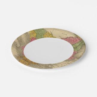 Turkey in Europe 8 Paper Plate