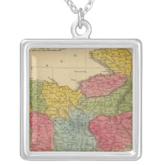 Turkey in Europe 8 Silver Plated Necklace