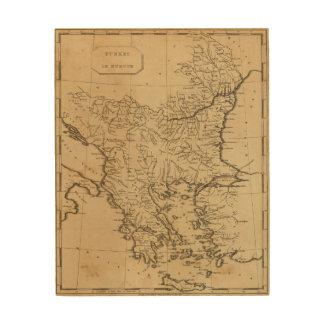 Turkey in Europe 9 Wood Wall Decor